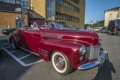 1941 cadillac 2 door convertible Royalty Free Stock Photography