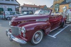1941 cadillac 2 door convertible Royalty Free Stock Photo