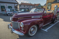 1941 cadillac 2 door convertible Royalty Free Stock Image