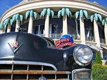 Cadillac e pianeta hollywood Immagine Stock Libera da Diritti