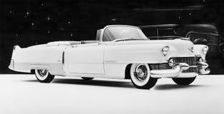 1954 Cadillac-Eldorado (Alle afgeschilderde personen leven niet langer en geen landgoed bestaat Leveranciersgaranties dat er n za Stock Afbeeldingen