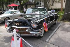 Cadillac 1956 Eldorado Biaritz Photographie stock