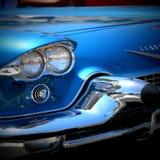 Cadillac Eldorado. 1959 Blue Cadillac Eldorado, classic car Stock Photos