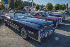 1976 Cadillac Eldorado Ninety Eight Convertible Royalty Free Stock Photography