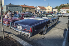 1976 Cadillac Eldorado Ninety Eight Convertible Royalty Free Stock Image