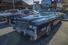 1976 Cadillac Eldorado Ninety Eight Convertible Stock Photography