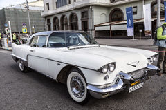 Cadillac Eldorado - party rally of classic vintage cars in Moscow Royalty Free Stock Images