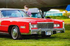 Cadillac Eldorado - vintage car Royalty Free Stock Photography