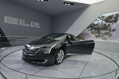 Cadillac ELR. May be used for automobile advertising, or to advertise an upcoming car show Stock Photography