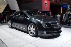 Cadillac ELR Genève 2013 royalty-vrije stock fotografie