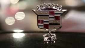 Cadillac emblem stock video