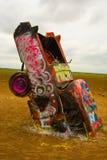 Cadillac enterré Photo stock