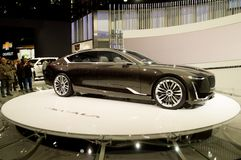 Cadillac Escala begrepp på Genève 2017 Royaltyfria Foton