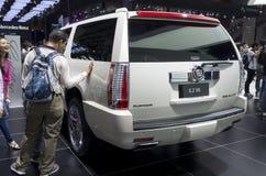 Cadillac ESCALADE Platinum SUV Royalty Free Stock Image
