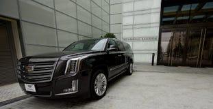 Cadillac 2017 Escalade VIP einzig Lizenzfreie Stockfotos