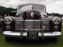 Cadillac-estrelas e carro do americano das listras Fotografia de Stock Royalty Free
