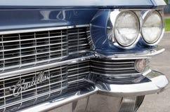 Cadillac fleetwood Special 60. Beautiful blue classic car from 1963 - Cadillac fleetwood Special 60 Royalty Free Stock Photos