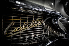 Cadillac Grill and Reflection Royalty Free Stock Photography
