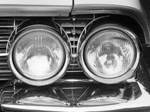 Cadillac Headlights Royalty Free Stock Images