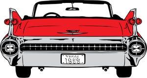 1959 Cadillac-Illustratie stock illustratie