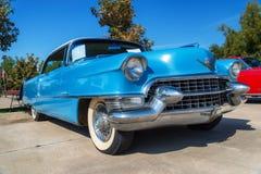 Cadillac kupé 1955 DeVille Fotografering för Bildbyråer