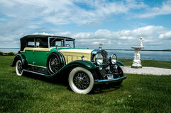 Cadillac-Limousine 1930 Fleetwood Lizenzfreies Stockfoto