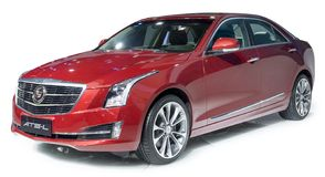 Cadillac Luxury sedan Stock Image