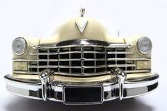 Cadillac-Metalskalaspielzeugauto fisheye frontview 1947 Stockbild