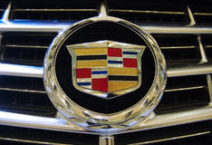 Cadillac  Motorlogo Stock Photo