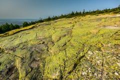 Cadillac Mountain - Acadia National Park Stock Image