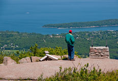 Cadillac Mountain, Maine, USA Royalty Free Stock Images