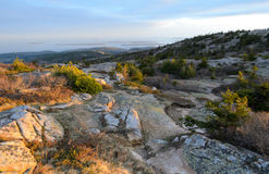 Cadillac Mountain sunset Stock Photo
