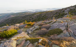 Cadillac Mountain sunset Royalty Free Stock Photography