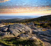 Cadillac Mountain View stock photography