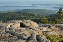 Cadillac mountain view Stock Images