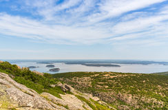Cadillac Mountain Vista Stock Photos