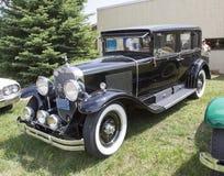 1929 Cadillac negro Foto de archivo libre de regalías