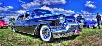 Cadillac nero Fotografia Stock Libera da Diritti