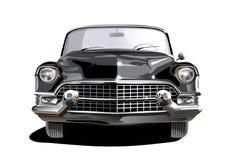 Cadillac nero Immagini Stock Libere da Diritti