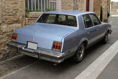 Cadillac oldsmobile 1984 - Back Royalty Free Stock Images