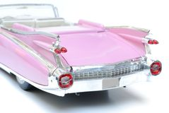 cadillac pink Royaltyfri Bild