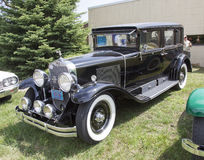 1929 Cadillac preto Foto de Stock Royalty Free