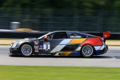 Cadillac racing team Stock Photos