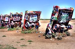 Cadillac Ranch Royalty Free Stock Photos