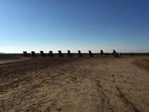 Cadillac-Ranch stockfoto