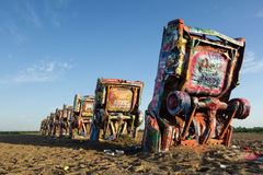 Cadillac-Ranch stockfotos