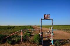 Cadillac Ranch in Amarillo, Texas. Royalty Free Stock Photos