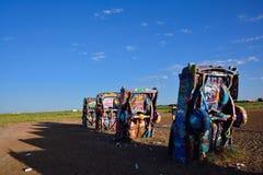Cadillac rancho w Amarillo, Teksas Fotografia Stock