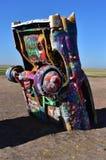 Cadillac rancho Znajdujący w Amarillo Teksas Z trasy 66 Zdjęcia Royalty Free