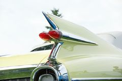 Cadillac Rear End Royalty Free Stock Images